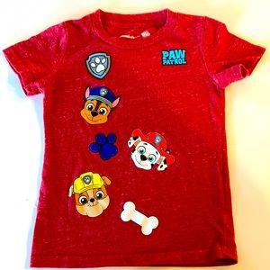 Paw patrol 3T gently used shirt ❤️ 🐶